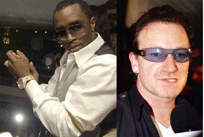 Bono & P. Diddy
