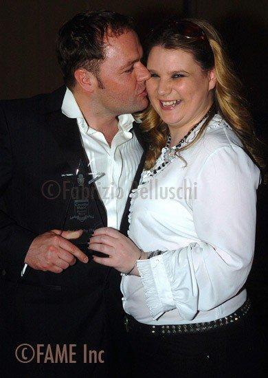 Kieran McGilligan and Tina Calder