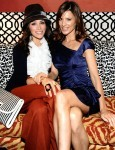 Actresses Abigail Spencer and Perrey Reeves