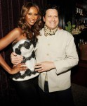 Model Iman and designer Isaac Mizrahi