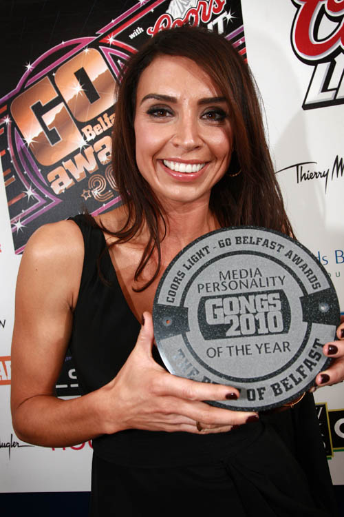 Belfast Award Winning Hair Beauty Salon Riah Hair: CHRISTINE BLEAKLEY AND FRANK LAMPARD SHINE AT GO BELFAST