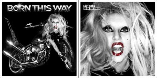 "lady gaga born this way special edition cover. X"" The cover -was shot by"