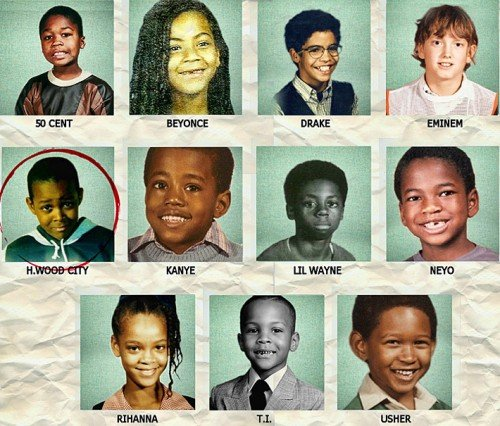 Lil wayne yearbook picture