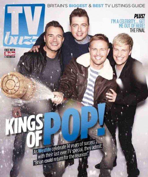 TV BUZZ Magazine:  TV-buzz-Front-Cover-e1322844957879