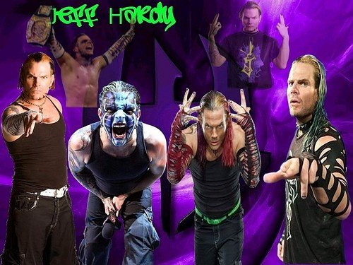 based on the most recent stint in TNA by the ever-popular Jeff Hardy