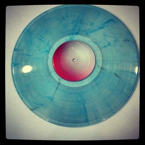 Our record! This vinyl is cooked and we're really happy with it.