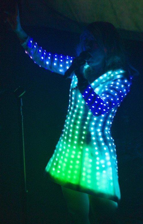 LITTLE BOOTS LED DRESS