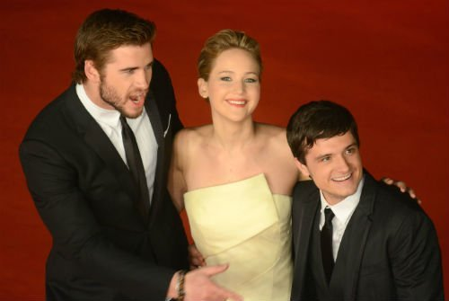 Jennifer Lawrence Liam Hemsworth Josh Hutcherson3