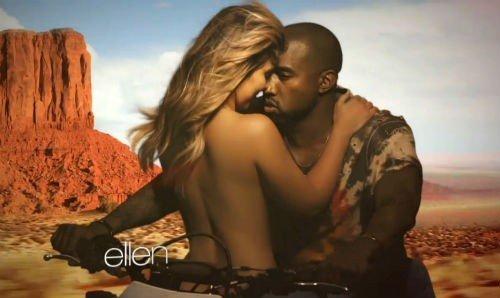 Kanye West kim video2