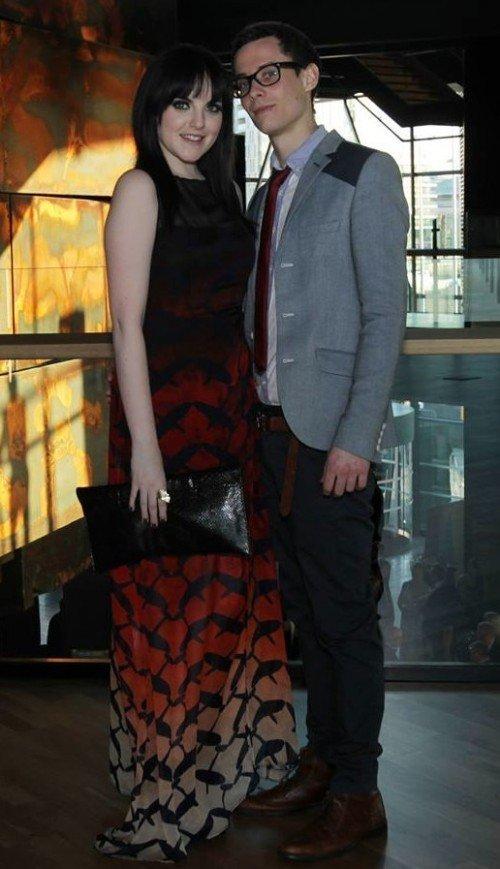 Niamh with boyfriend Matt Weir