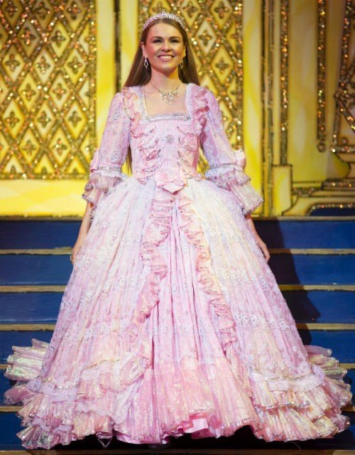 Zoe Salmon as Cinderella in Ball Gown1