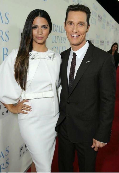 Camila Alves McConaughey and Matthew McConaughey1