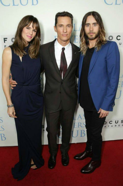 Jennifer Garner Matthew McConaughey and Jared Leto1