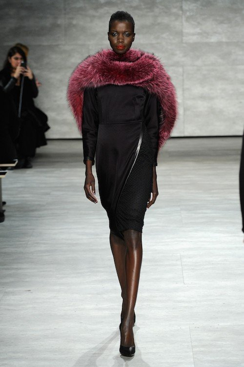 Georgine - Runway - Mercedes-Benz Fashion Week Fall 2014