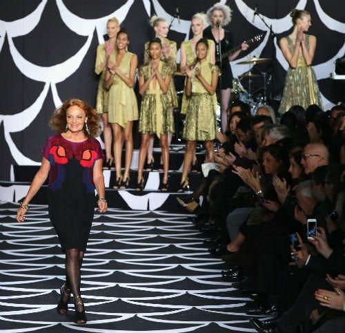 nyfw Designer Diane Von Furstenberg