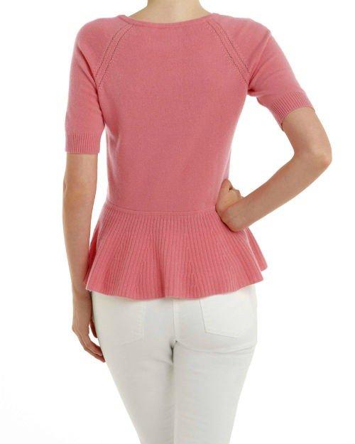 Cashmere Peplum Sweater2