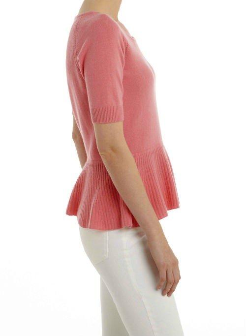 Cashmere Peplum Sweater5