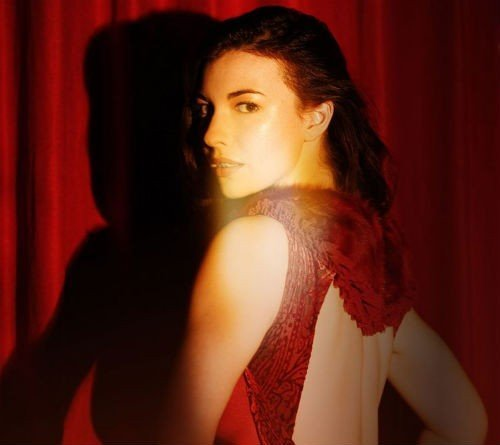 chrysta bell by david lynch_ red curtain