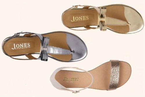metallic flip flops Jones2