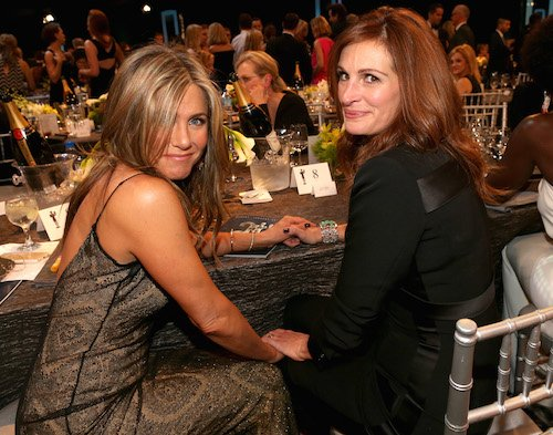 Jennifer Aniston and Julia Roberts