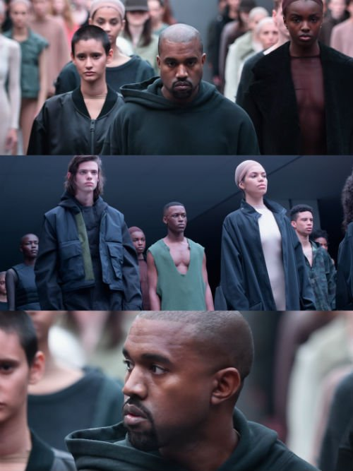 Kanye West YEEZY SEASON 1 Collage2