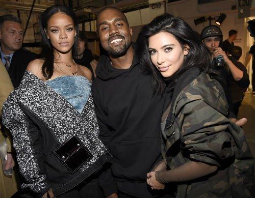 rihanna kim Kanye West YEEZY SEASON