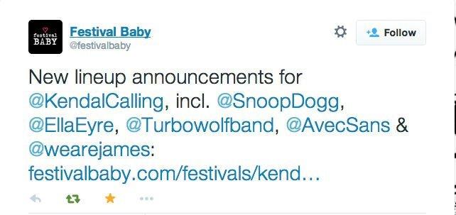 avec sans twitter festival baby