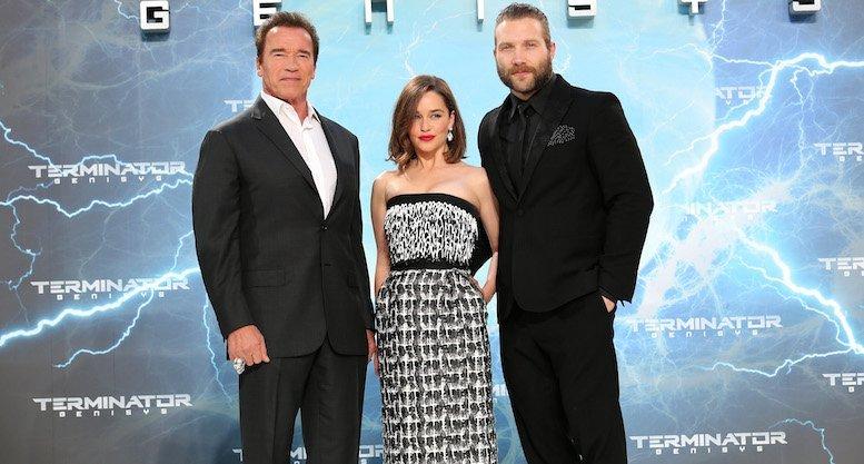 Emilia Clarke, Arnold Schwarzenegger,  Jai Courtney