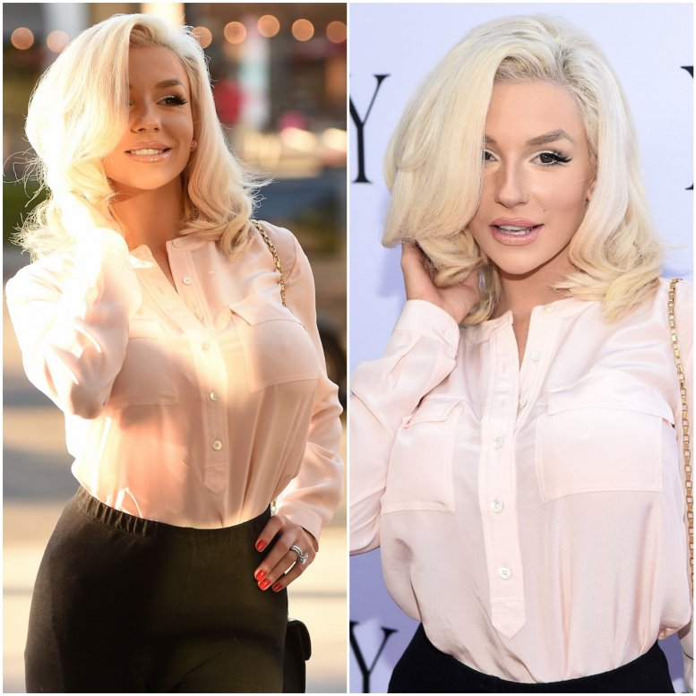 Model Courtney Stodden
