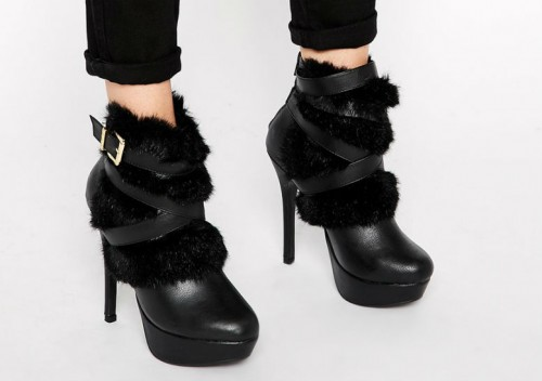 faux fur boots1