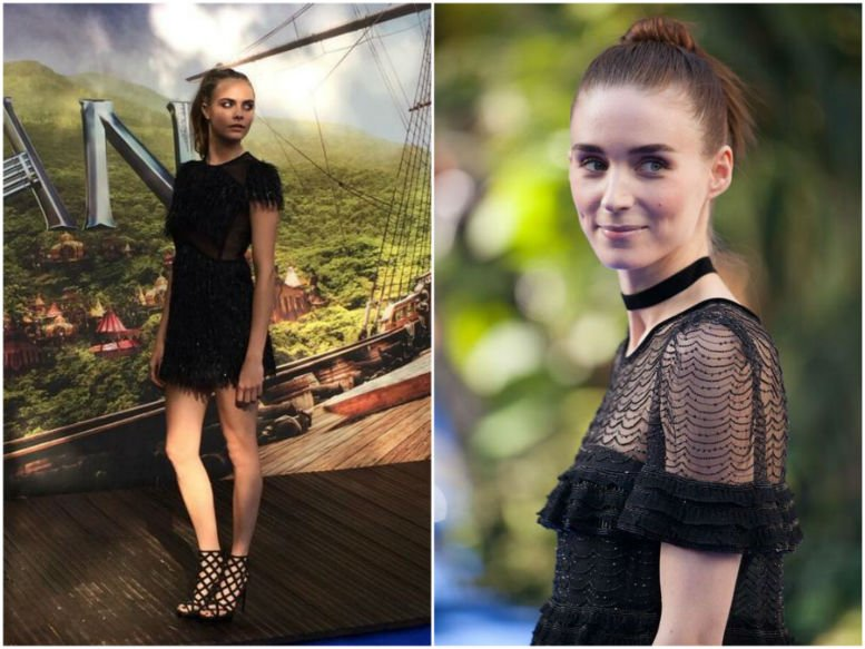 Cara Delevingne and Rooney Mara,