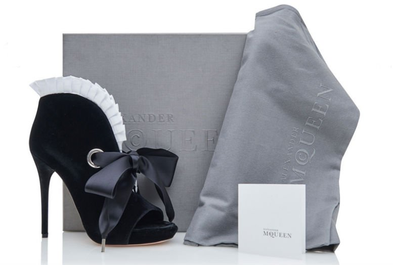 Alexander McQueen shoe black3