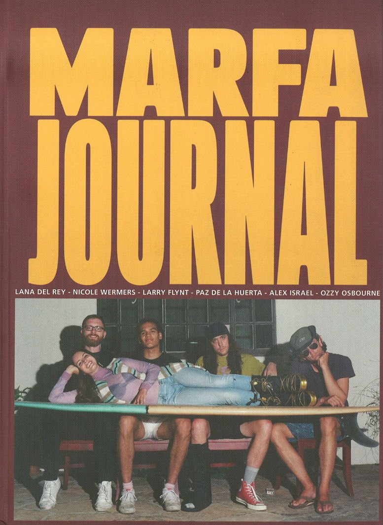Lana Del Rey - Marfa Journal - Issue 4 (Cover)