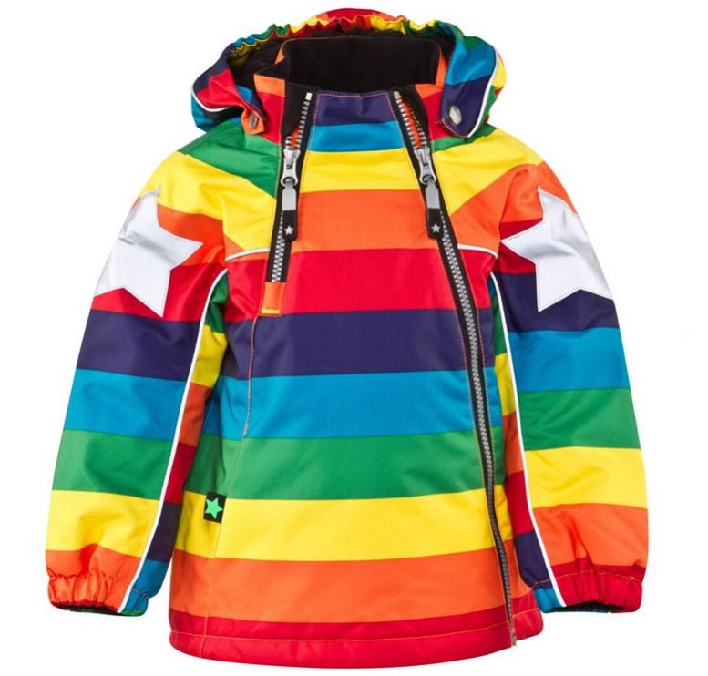 Molo Rainbow Hopla Ski Jacket £100.00