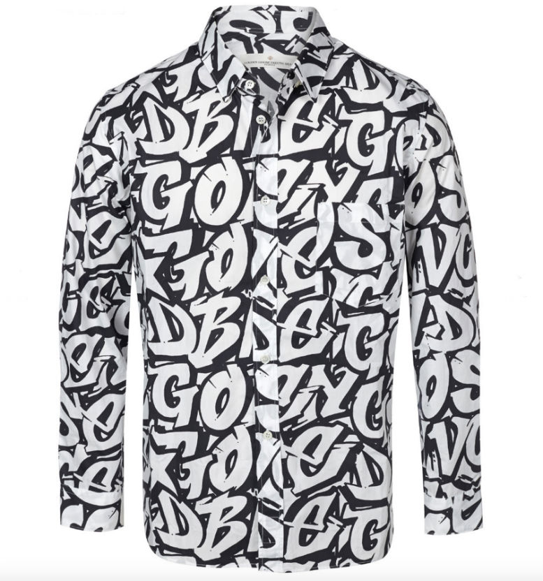Stylish Men's Golden Goose shirt Retail Price, appr. £ 209 Fashionesta.com PRICE £119