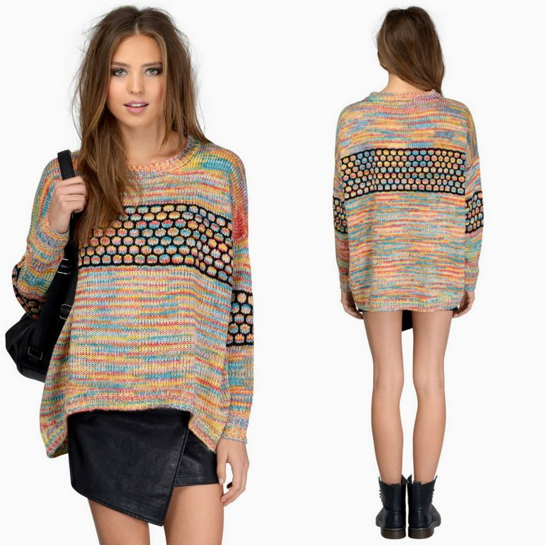 HONEYCOMB SWEATER £41.56