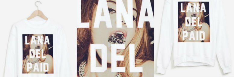 RAD LANA DEL PAID Collage