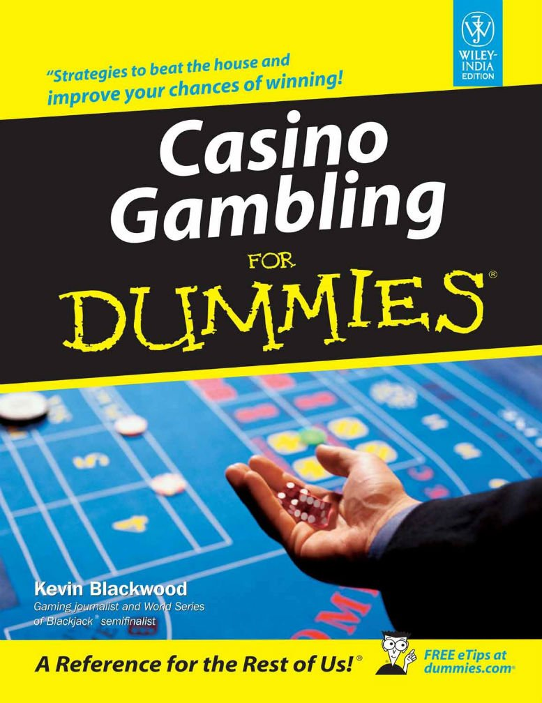 'Casino Gambling for Dummies' by Kevin Blackwood