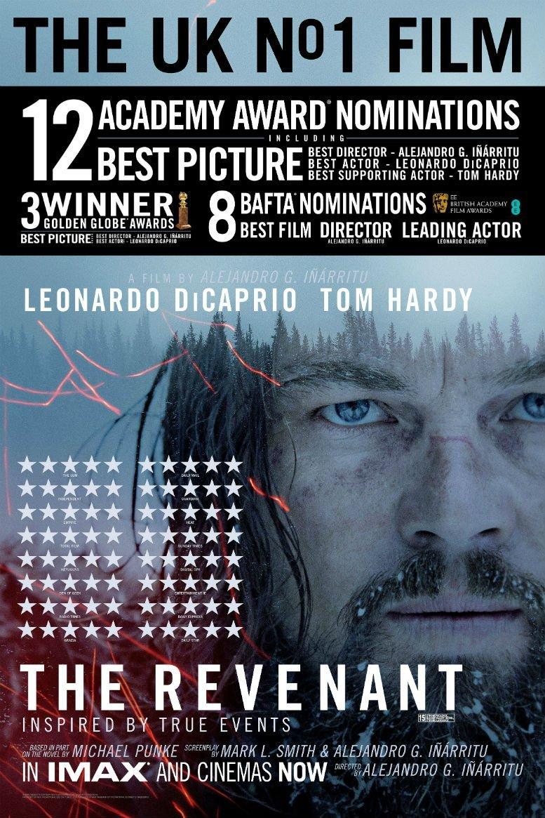 The Revenant Awards Poster