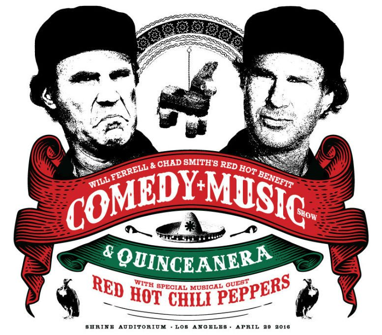 Will Ferrell Chad Smith's Red Hot Benefit